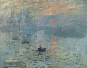 Monet - Auringonnousu (media: Creative Commons)